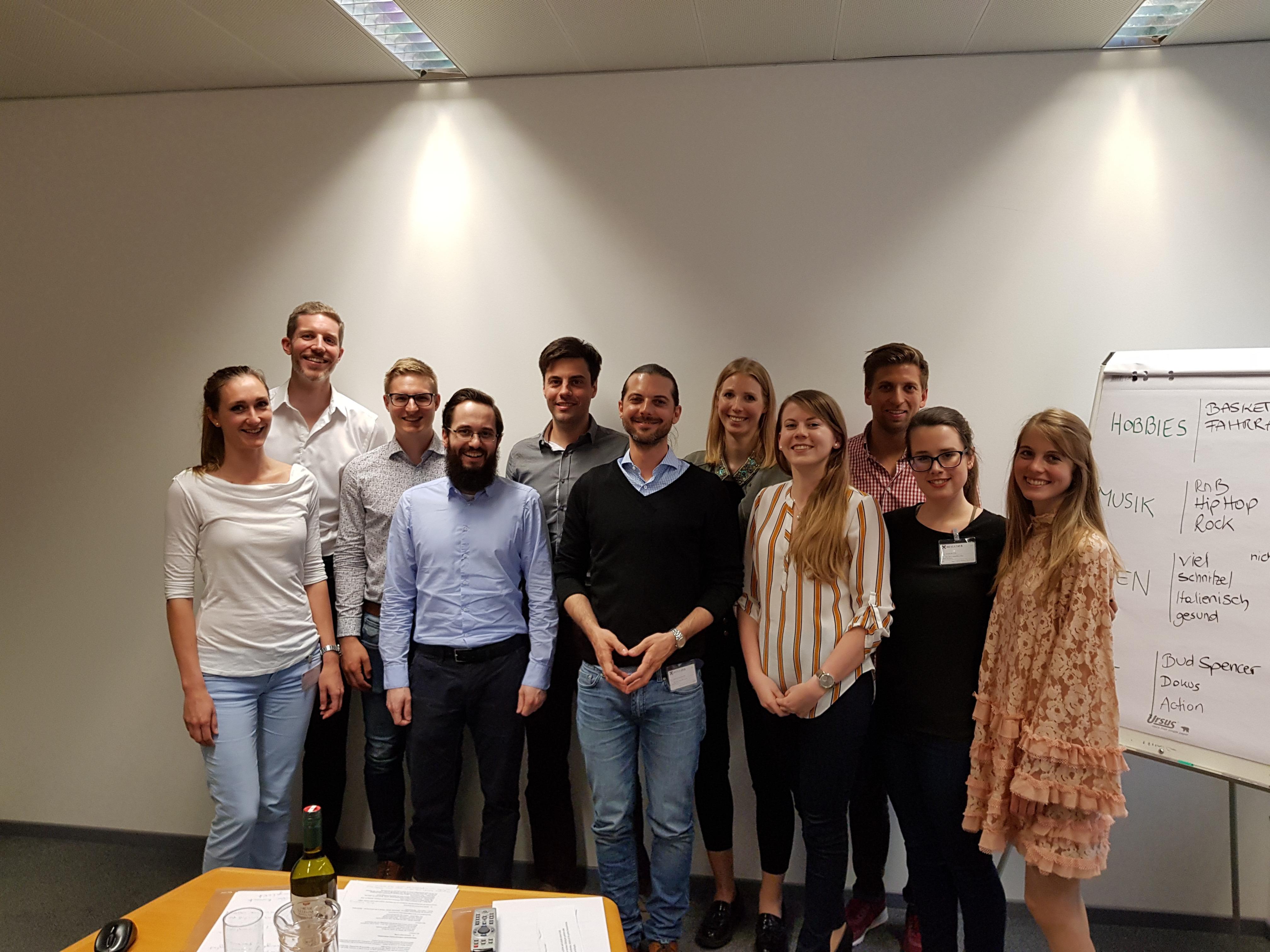 Workshop Präsentation, Kommunikation und Körpersprache mit Mathias Dockner