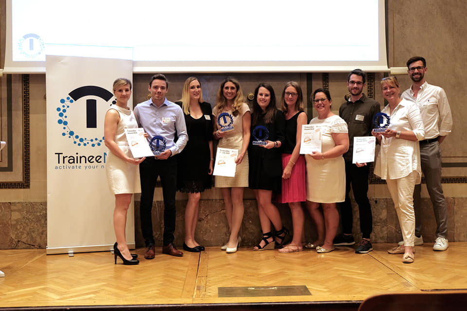 Verleihung TraineeNet-Award, 28.06.2019