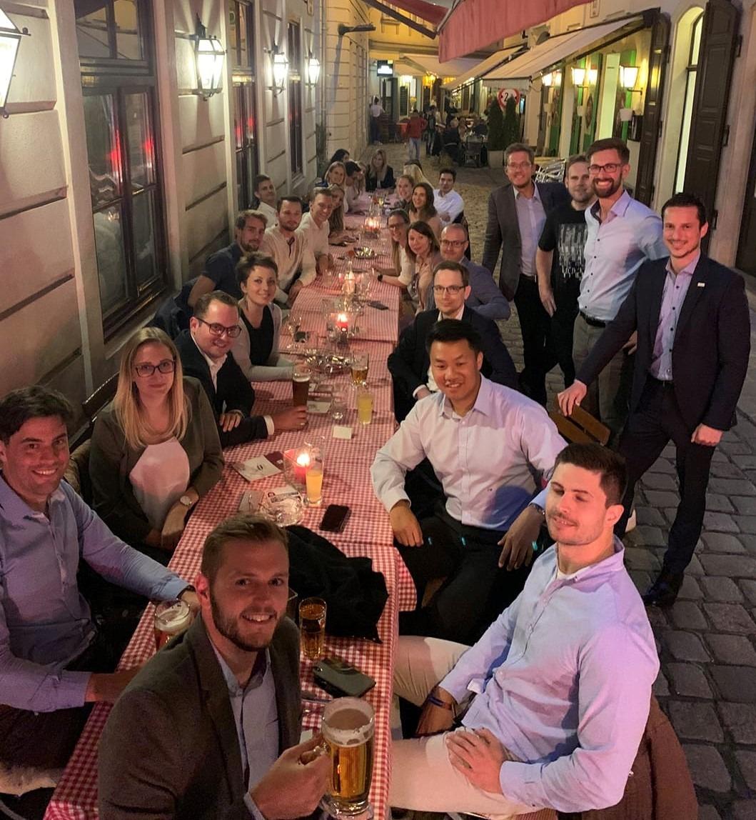 TraineeNet & YLF: Networking Heurigen, 11.09.2019